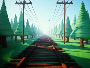 Train Animation - Game
